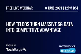 Live Webinar: How Telcos Turn Massive 5G Data Into Competitive Advantage